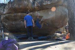 Rock Climbing Photo: Me on Popeye
