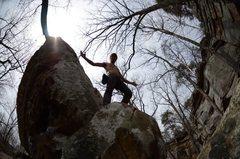 Rock Climbing Photo: SuperMario Ascent Photo (V4)