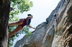 Rock Climbing Photo: Misty 5.10c