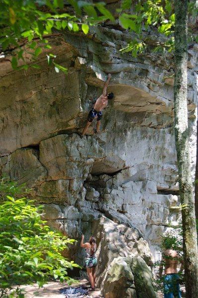 Rock Climbing Photo: Cinco de Mayo (5.10d)