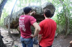 Rock Climbing Photo: The orb