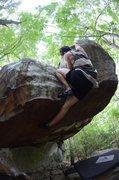 Rock Climbing Photo: Trouble