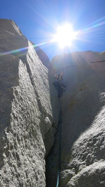 Rock Climbing Photo: West Face; Cardinal Pinnacle