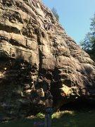 Rock Climbing Photo: Stevie J at the anchor