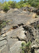 Rock Climbing Photo: Cemetery Wall - Fine Line Area