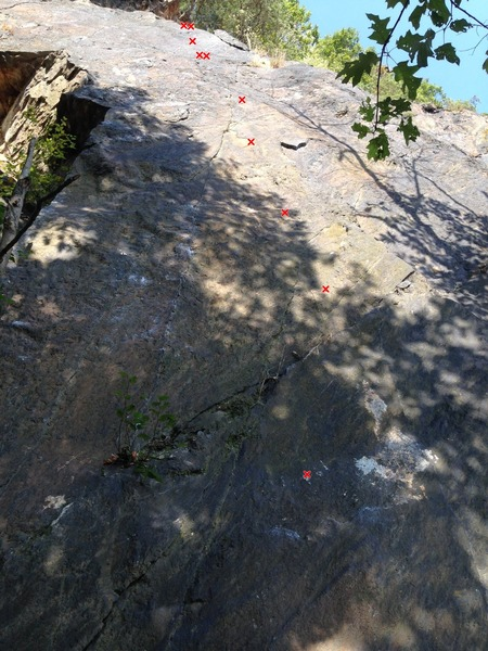 Rock Climbing Photo: Ruby Red Slippers