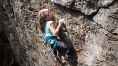 Rock Climbing Photo: Long Hair don't care!
