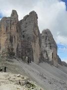 Rock Climbing Photo: Cima Grande is in center.