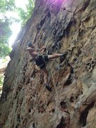 Rock Climbing Photo: Fuzzy Undercling