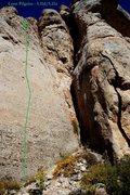Rock Climbing Photo: Lone Pilgrim (September 2014)