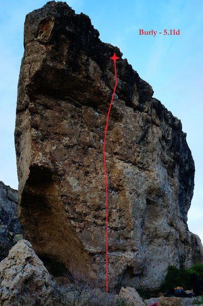 Rock Climbing Photo: Burly (September 2014)