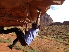 Rock Climbing Photo: Pic from Moab for my profile :)
