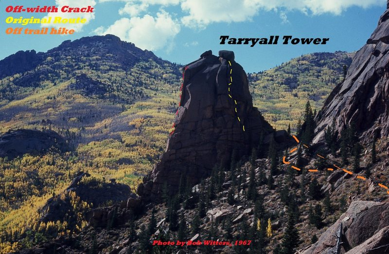 Rock Climbing Photo: Tarryall Tower.