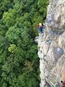Justin on second pitch of Ecstasy