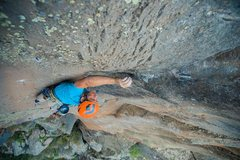 Rock Climbing Photo: Shot from the First Ascent. Photo: Tamara Hastie t...