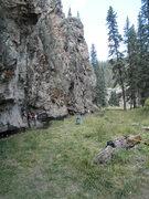Rock Climbing Photo: Love Shack moderates