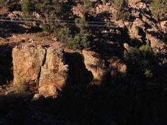 Rock Climbing Photo: Jacoby Canyon Crags from 3N16, Big Bear North