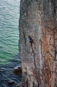 Rock Climbing Photo: Palisaid. Decent pro through this spot. September ...