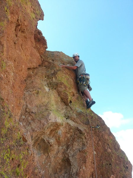 Rock Climbing Photo: Ryan on LL