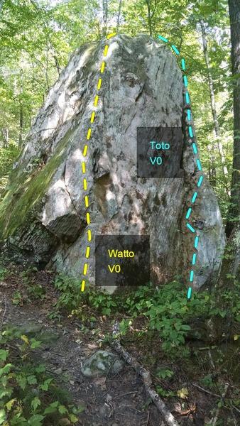 R->L. Watto V0, Toto V0.