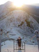 Rock Climbing Photo: Yosemite! Half dome