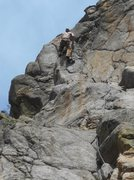 "Rock Climbing Photo: Nearing the buisness move on ""Cannabis Sporti..."