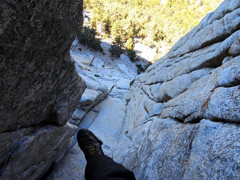 Rock Climbing Photo: Hoodenett