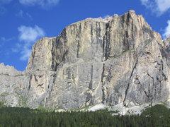 Rock Climbing Photo: Piz Ciavazes, a popular climbing destination.