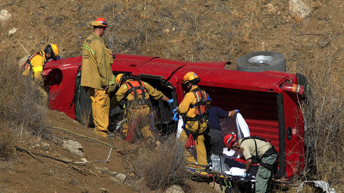Three Burbank teens were killed on Sept. 12, 2014 when their truck rolled down an embankment, on Rush Canyon Road, at 2AM.