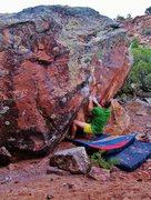 Rock Climbing Photo: Start beta of Frida Defends the Fear.