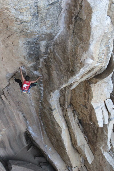"Rock Climbing Photo: Alain De la Tejera on ""Cookie Monster"". ..."