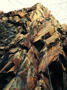 Rock Climbing Photo: Devil's Cut Beta