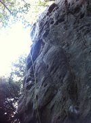 Rock Climbing Photo: Pretty good route I think is a little more stiffer...