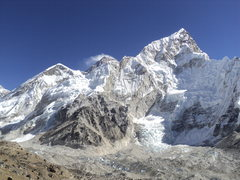 Rock Climbing Photo: Mount Everest from base Camp