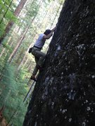 Rock Climbing Photo: Charles on the first section of China Man