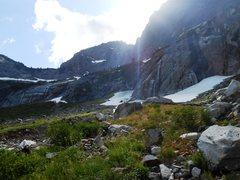Rock Climbing Photo: Waterfall Basin