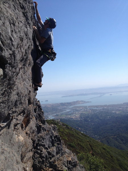 Rock Climbing Photo: Equinox-Mt. Tam