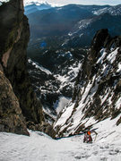 Rock Climbing Photo: Steep, long, and classic! Early mornings don't get...