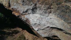 Rock Climbing Photo: Chalk damage 3.