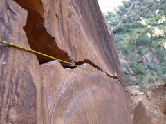 Rock Climbing Photo: The strenuous and amazing pitch 2!