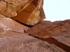 Rock Climbing Photo: Pitch 3 Fun Roof