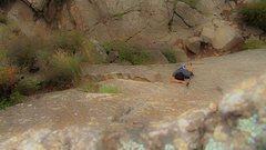 Rock Climbing Photo: ETA 4 min.