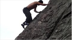 Rock Climbing Photo: Practice.