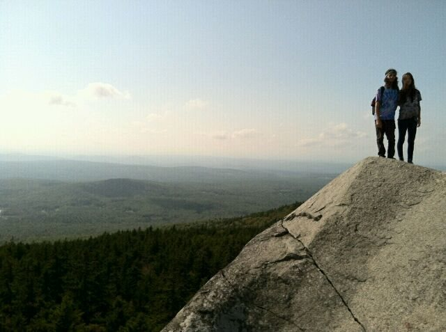 Rock Climbing Photo: Just a nice Mt Monadnock hike