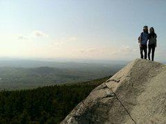 Rock Climbing Photo: Just a nice Mt Monadnock hike
