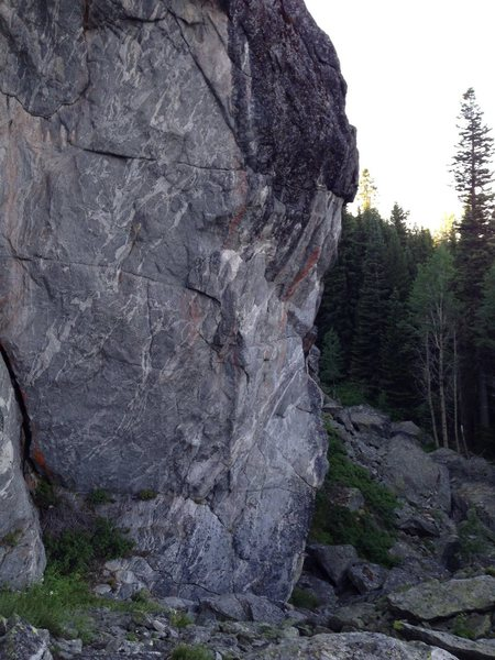 Rock Climbing Photo: Bolting in McCall