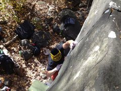 Rock Climbing Photo: View from the top of Black Angus
