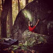 Rock Climbing Photo: An early morning session on Into on Into the Picni...