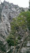 Rock Climbing Photo: Cleaning chupa