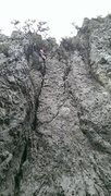 Rock Climbing Photo: Atop call of the wild
